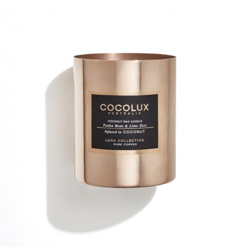 Cocolux Candle - Tonka Bean & Lime Zest