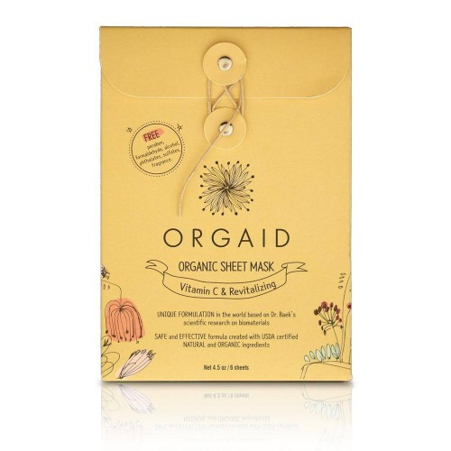 Organic Sheet Mask Vitamin C
