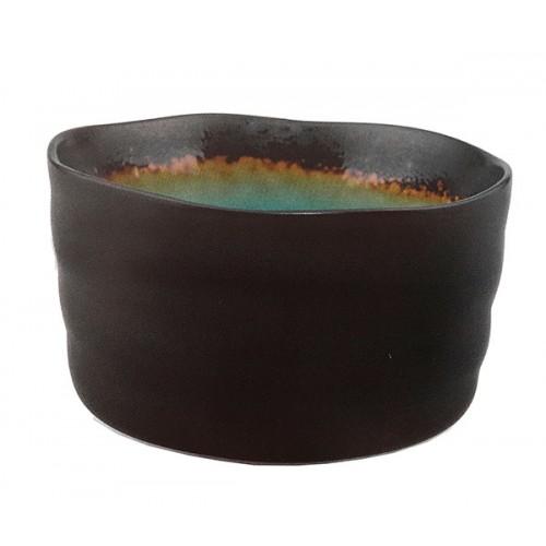 Matcha bowl turquoise/black
