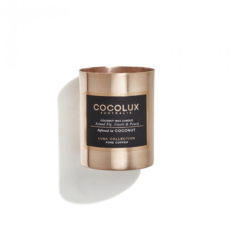 Cocolux Candle - Fig, Cassis & Peach