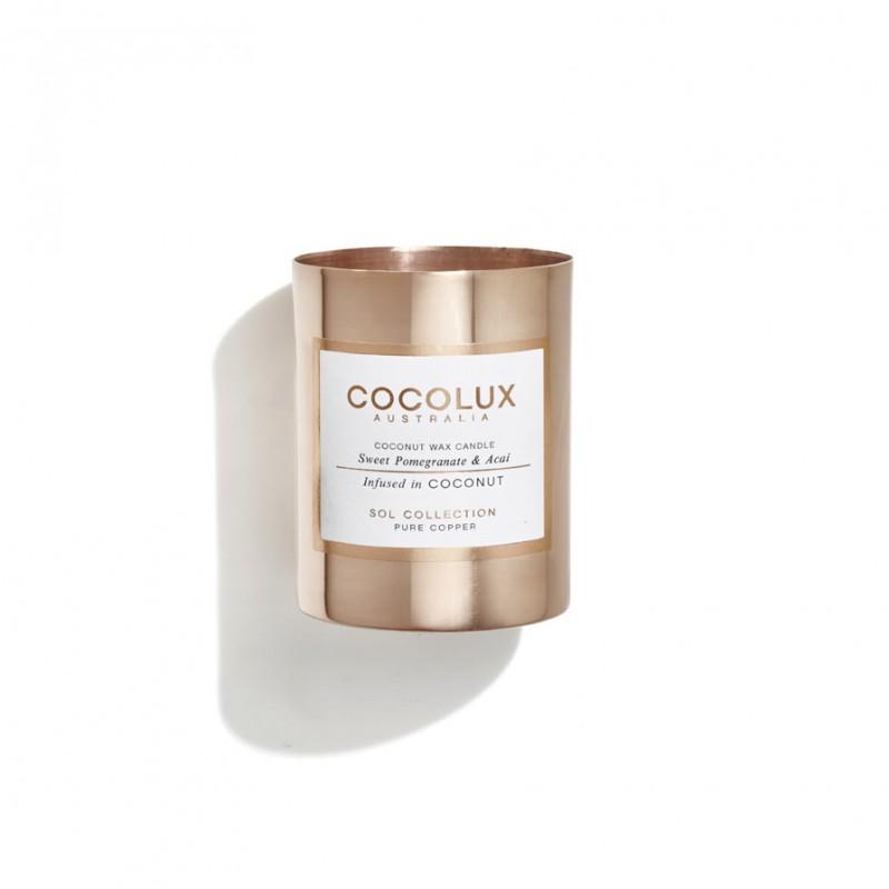 Cocolux Candle-Sweet Pomegranate & Acai