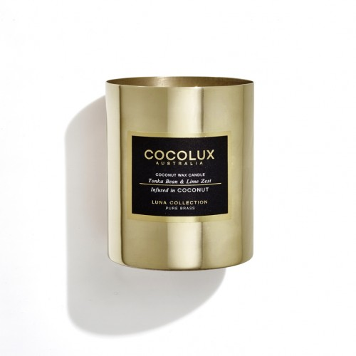 Tonka Bean & Lime Zest Brass 350g