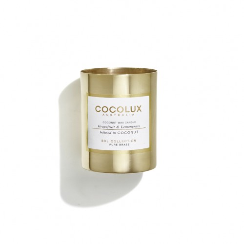 Cocolux Candle-Grapefruit & Lemongrass