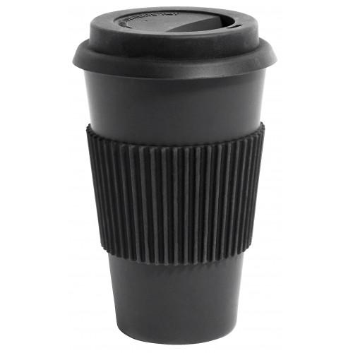 Black Bamboo Mug To-Go