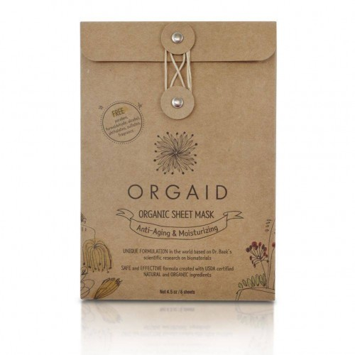 Organic Sheet Mask - Anti-Aging & Moisturizing